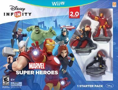 Disney Infinity: Marvel Super Heroes Starter Pack 2.0 Cover Art