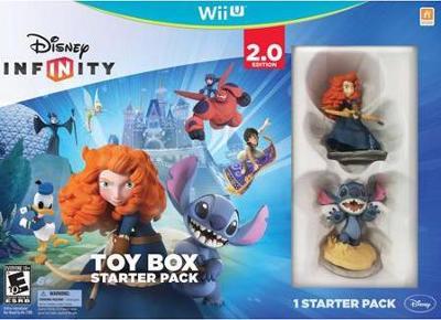 Disney Infinity: Toy Box Starter Pack 2.0 Cover Art