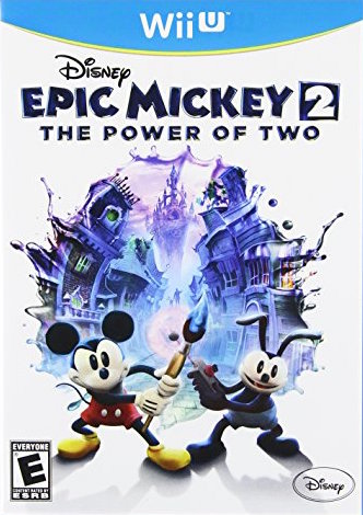 Epic Mickey 2: The Power of Two Cover Art