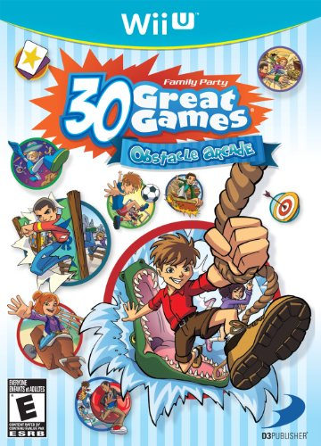 Family Party: 30 Great Games Obstacle Arcade Cover Art