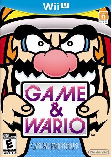 Game & Wario Cover Art
