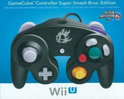 Nintendo GameCube Black Controller for Wii U [Super Smash Bros. Edition] Cover Art