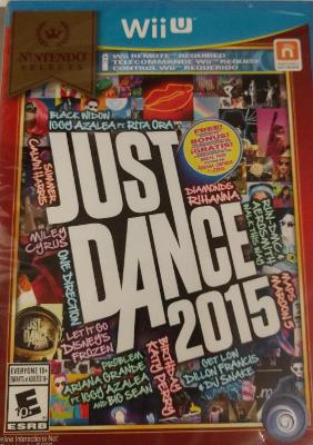 Just Dance 2015 [Nintendo Selects] Cover Art