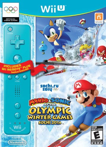 Mario & Sonic at the Sochi 2014 Olympic Games [Controller Bundle] Cover Art