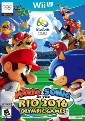 Mario & Sonic at the Rio 2016 Olympic Games Cover Art