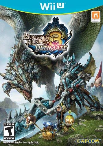Monster Hunter 3 Ultimate Cover Art