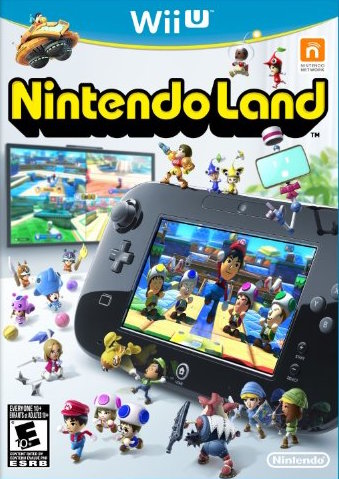 Nintendo Land Cover Art