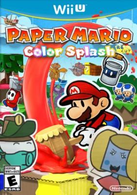 Paper Mario: Color Splash Cover Art