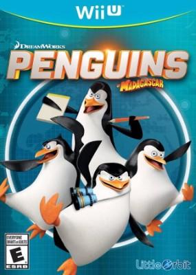 Penguins of Madagascar Cover Art