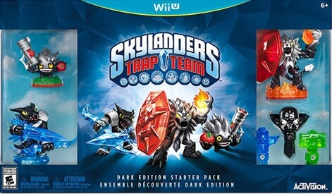 Skylanders SuperChargers [Starter Pack] [Dark Edition] Cover Art