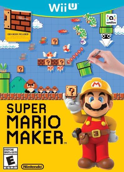 Super Mario Maker Cover Art