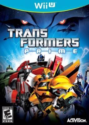 Transformers Prime Cover Art