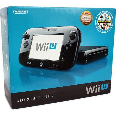 Wii U Black 32GB [Deluxe Set] Cover Art