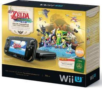 Wii U [Legend of Zelda Wind Waker Deluxe Set] Cover Art