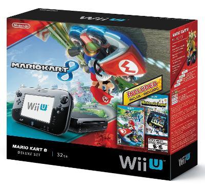 Wii U [Mario Kart 8 Nintendoland Deluxe Set] Cover Art
