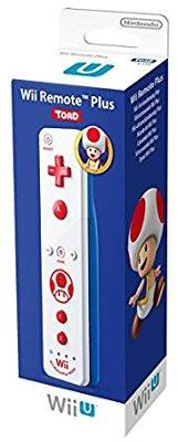 Wii Remote Plus [Toad] Cover Art
