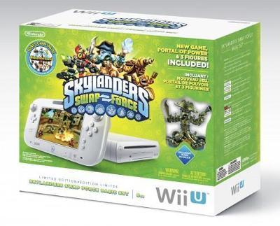 Wii U [Skylanders SWAP Force Basic Set] Cover Art
