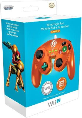 Wired Fight Pad [Samus] Cover Art
