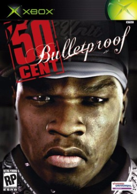 50 Cent: Bulletproof Cover Art