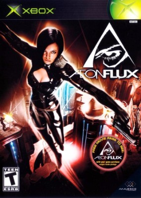 Aeon Flux Cover Art