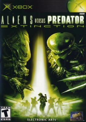 Aliens vs. Predator: Extinction Cover Art