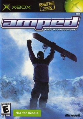 Amped: Freestyle Snowboarding Cover Art