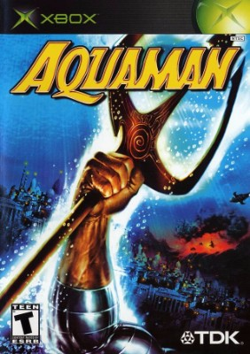 Aquaman: Battle for Atlantis Cover Art