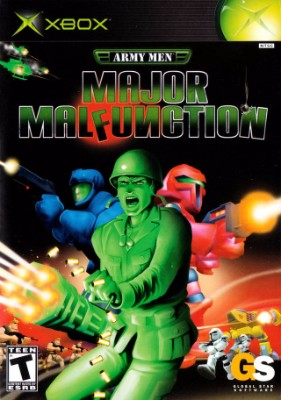 Army Men: Major Malfunction Cover Art