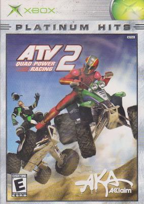 ATV Quad Power Racing 2 [Platinum Hits] Cover Art