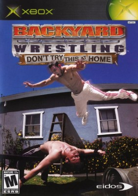 Backyard Wrestling Cover Art