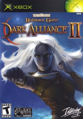 Baldur's Gate: Dark Alliance II Cover Art