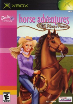 Barbie: Horse Adventures Wild Horse Rescue Cover Art