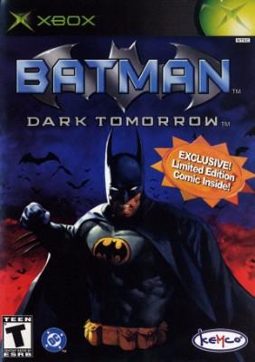 Batman: Dark Tomorrow Cover Art
