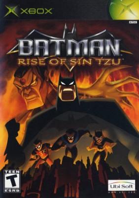 Batman: Rise of Sin Tzu Cover Art