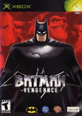 Batman: Vengeance Cover Art