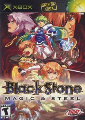 Blackstone: Magic & Steel Cover Art