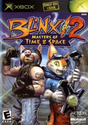 Blinx 2: Masters of Time & Space Cover Art