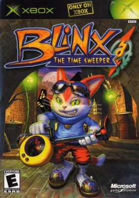 Blinx: The Time Sweeper Cover Art