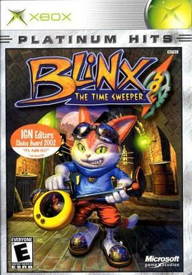 Blinx: The Time Sweeper [Platinum Hits] Cover Art