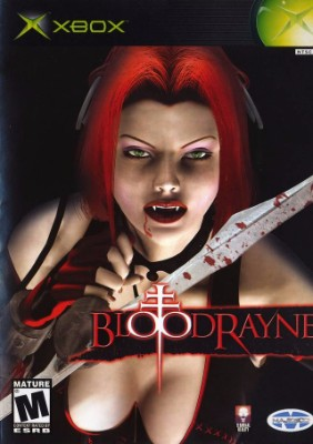 Bloodrayne Cover Art