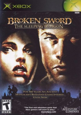 Broken Sword: The Sleeping Dragon Cover Art