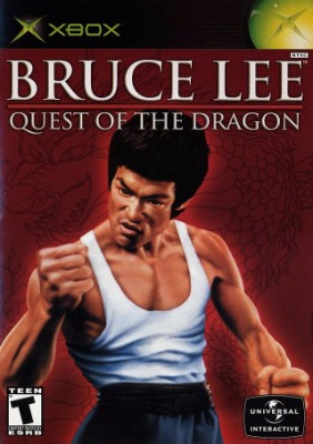 Bruce Lee: Quest of the Dragon Cover Art