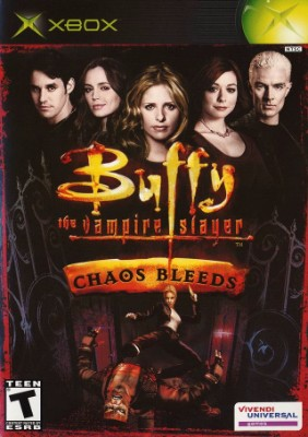 Buffy the Vampire Slayer: Chaos Bleeds Cover Art