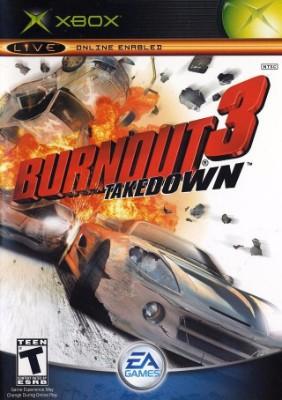 Burnout 3: Takedown Cover Art