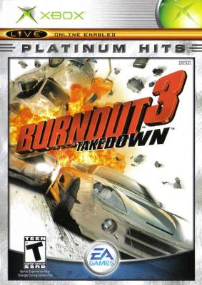 Burnout 3: Takedown [Platinum Hits] Cover Art