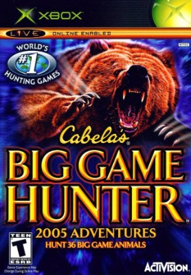 Cabela's Big Game Hunter: 2005 Adventures Cover Art
