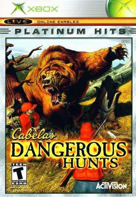 Cabela's Dangerous Hunts [Platinum Hits] Cover Art