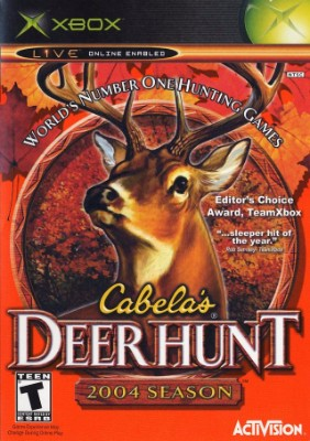 Cabela's Deer Hunt 2004 Season Cover Art