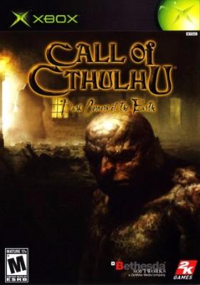 Call of Cthulhu: Dark Corners of the Earth Cover Art