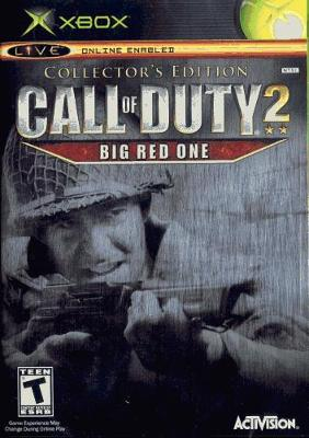 Call of Duty 2: Big Red One [Collector's Edition] Cover Art